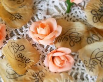 Wedding Aisle Runner Ideas Confetti Toss Wedding Wedding or Bridal Shower Table Runner Rustic Wedding Cake Table Decorations Rose Petals