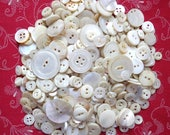 Vintage Shell Buttons