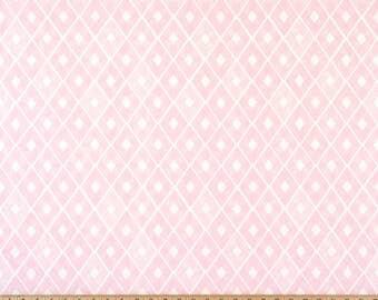 Trillion Diamond Bella Pink Twill fabric | Home Dec Cotton | Premier Prints