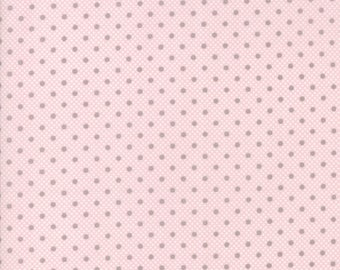 Lily Will Revisited Pink Gray fabric | Moda 2804 24 | Cotton Quilting fabric