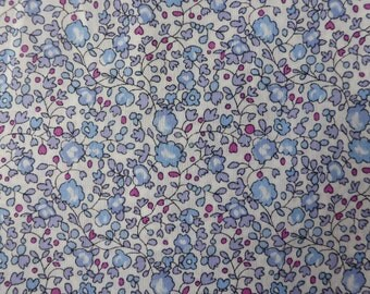 Liberty of London tana lawn fabric Eloise Fat Quarter Liberty Tissu