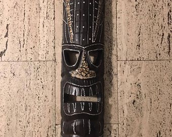 Tiki tribal mask