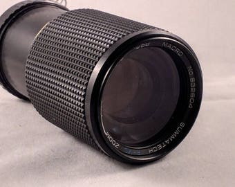 Summatech Zoom 60-210mm f/4.5 Olympus Mount zoom lens
