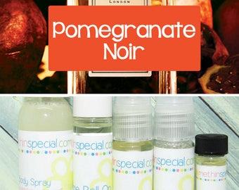 Pomegranate Noir Perfume, Perfume Spray, Body Spray, Perfume Roll On, Perfume Sample, Dry Oil Spray, Dry Oil Mist, You Choose a Product
