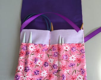 Travel Organizer Case-Knitting Needles, Needle Tips, Crochet Hooks, Cables To Go
