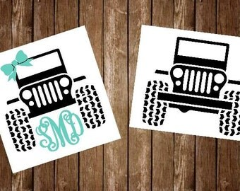 Jeep Cup Etsy - Jeep vinyls for yeti cups