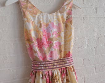 Tea Dress { dusty pink } size 0-2