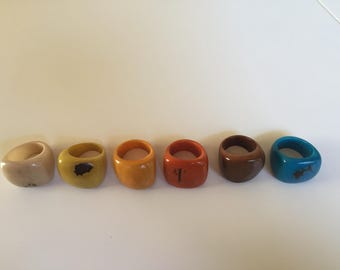 Chunky lightweight ring size 9