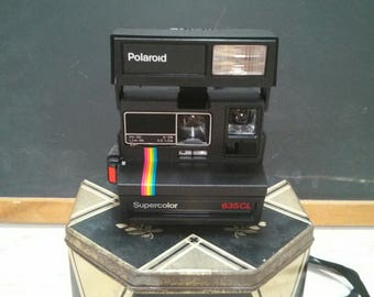 Polaroid Supercolor 635CL Camera