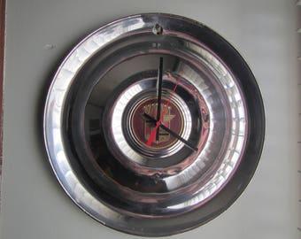 1947-53 Cadillac Hubcap Clock no.2508