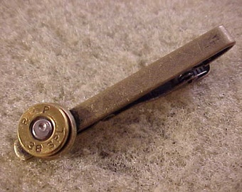 38 Special Bullet Tie Clip Recycled Repurposed