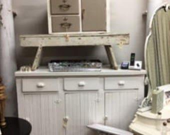 Fabulous Shabby Chic Farm Cabinet