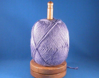 Butternut Yarn/Thread Holder - Specialty Lacquer Finish