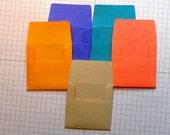 40 Kraft Mini Envelopes