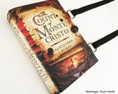 Count of Monte Cristo Recycled Book Purse - Recycled Book Cover Purse - Literature Handbag - Literary Gift - Bookish Accessory