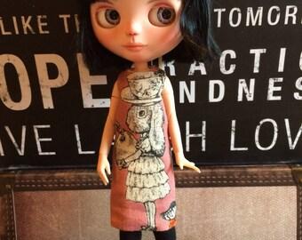 Blythe Dress - Dress and tights for Blythe dolls.