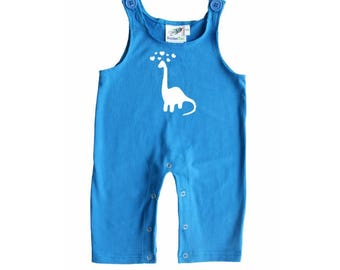 Baby and Toddler Overalls-Dinosaur Love