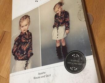 Figgy's Ayashe Blouse & Skirt Sewing Pattern