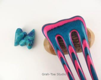 Hair Fork, Mini Threnody ,Wooden Hairfork,Hair Forks, Hairforks,Hair Stick, Man bun,Hairsticks wood,Grahtoe Studio, gift for her,Mothers Day