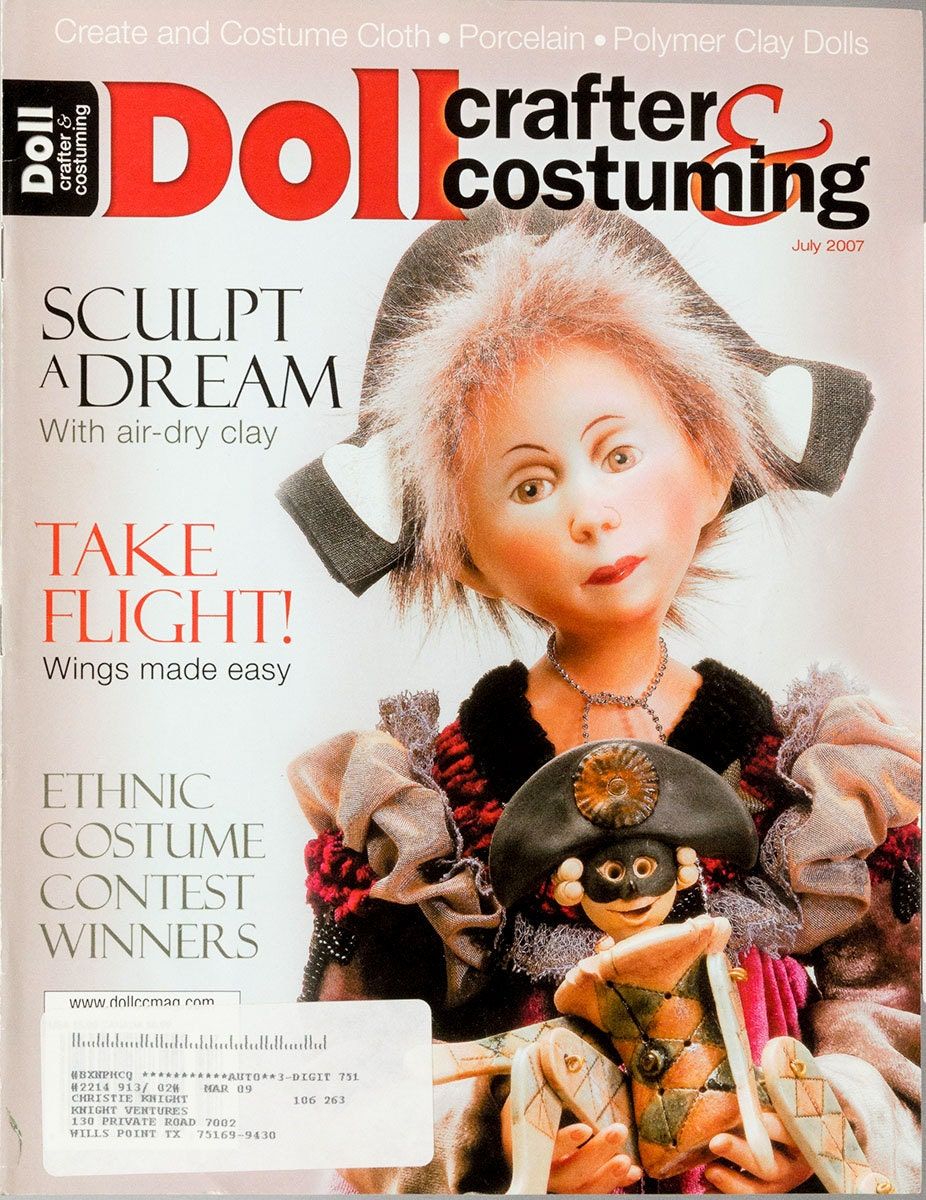 Doll Customer Service Phone Number: Crafter Costuming Magazine