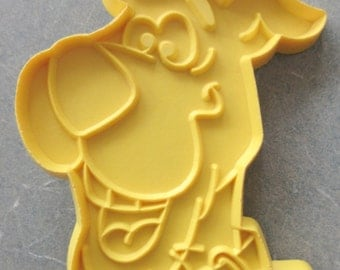 Vintage Cookie Cutter, Scooby Doo Cookie Cutter, Plastic Cutter, 1970s Scooby Doo, Hanna Barbera, Vintage Scooby Doo, Plastic Cookie Cutter