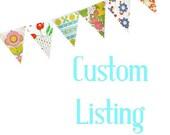 Custom Listing for  Britney
