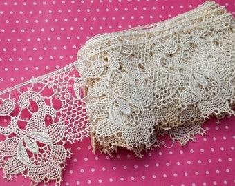 Antique Lace Vintage Lace Trim Cotton Chemical Lace Flowers