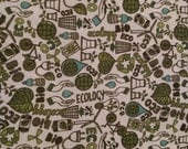 Think Eco print PUL By The Yard