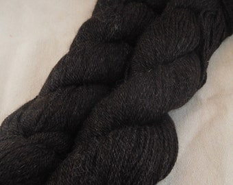 Natural Black Coopworth/ Alpaca Yarn