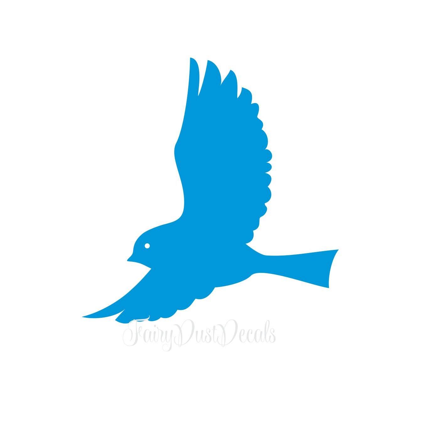 Colorful Wall Stickers Bird Wall Decal Flying Bird Decal For Walls Vinyl Wall