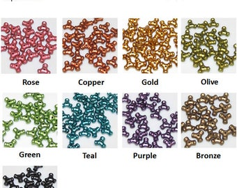 Tri Beads Pearlized - choose color