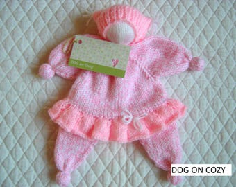 """Cuddle Doll, Waldorf Comfort Doll for Babies, Waldorf First Doll, Floppy Baby Doll, Safe and Soft, Security Doll, Doll to Hug, 12"""" Doll"""