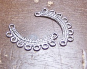 CLEARANCE - Silver Plated Necklace Component