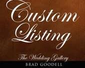 Custom Order - Comic Book Wedding Set, Cake Server, Knife, Champagne Glasses, Personalized