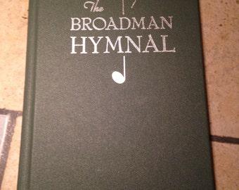 1940 The Broadman Hymnal Hymn Book