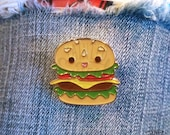 Burger Buddy Enamel Pin