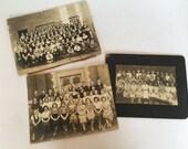 3 Antique School Photos