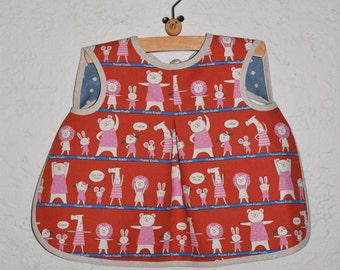Aiden & Ava Reversible Baby Bib Sewing Pattern in a PDF for Digital Download