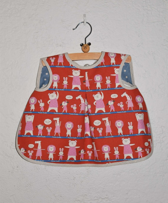 Aiden & Ava Reversible Baby Bib Sewing Pattern in a PDF for