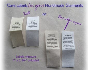Care labels-Text Only-No graphic/Logos