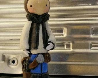 Han Solo Poppet #5 of a Very Limited Edition of 50- Lisa Snellings