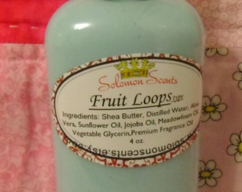 Fruit Loops type Shea Butter Lotion