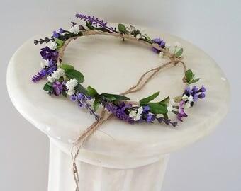 Wedding Flower Crown Lily Of The Valley Caroline Flower Girl