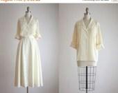 25% SALE eggshell silk blouse