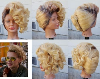 Holtzmann wig Ghostbusters 2016 cosplay costume accessory MADE TO ORDER