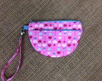 Heart Zip Case, Manhattan Zip Case, Wristlet