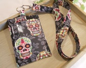 CUSTOM Reserved Listing for Melissa Morton ONLY....Designer ID Badge Holder with Matching Lanyard