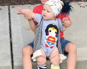 Wonder Girl Infant Bodysuit