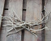 Skinny Squiggly Curly Driftwood Collection , Natural Art supply , Driftwood Decor 15 Pieces SQ15