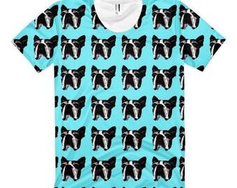 Boston Terrier Dog Women's T-Shirt